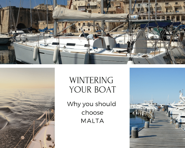 yacht berths in malta. wintering your boat in malta